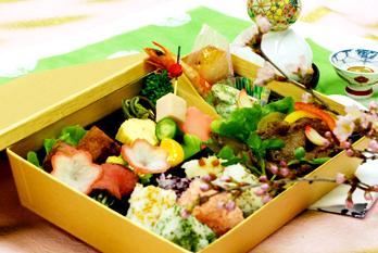 和田金季節の彩り弁当